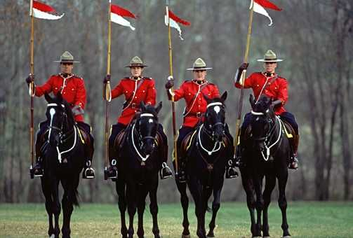 Canadian Mounted Police.