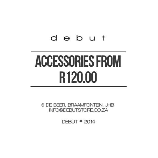 #DEBUTSTORE - #Accessories