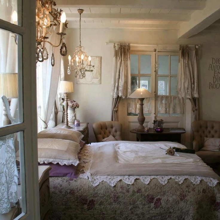 947 best camera da letto images on pinterest | cottage bedrooms ... - Letto Country Chic