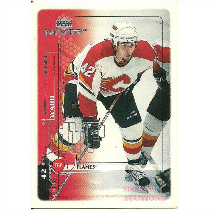 Upper Deck MVP 1991 NHL Hockey Trading Card #31 Ed Ward #42 RW Calgary Flames on eBid Canada $1.00