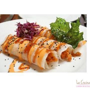 Tacos de jicama con camarones una combinación exquisita por la combinación de ingredientes.