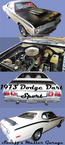 [FOR SALE] Gorgeous 1973 Dodge Dart Sport for $16,500. #DodgeDart #SoneffsMasterGarage #ClassicCars #Darts