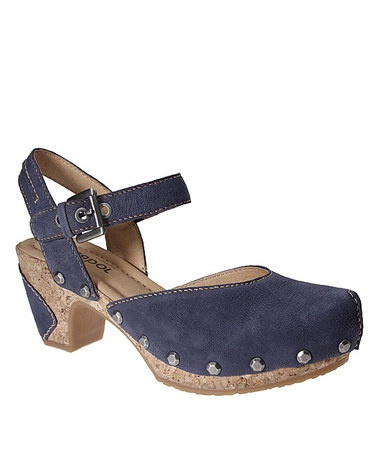 OMG I love these!!Take a look at this Navy Sandal by Gabor Shoes on #zulily today!