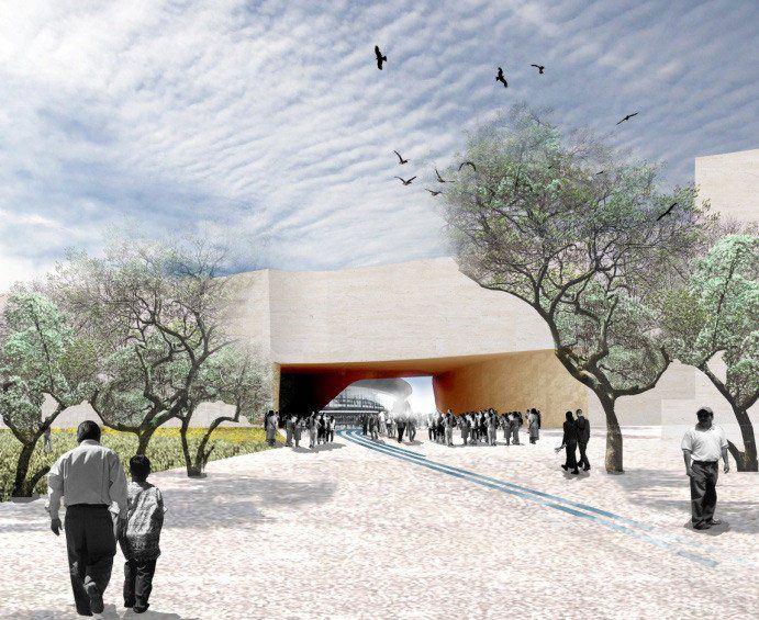 Музей музей Ambientali дель-университета-ди-Гвадалахара, Гвадалахара, 2010 г. - Снехетта Traedal Кьетил Торсен, Крэйг Дайкерс