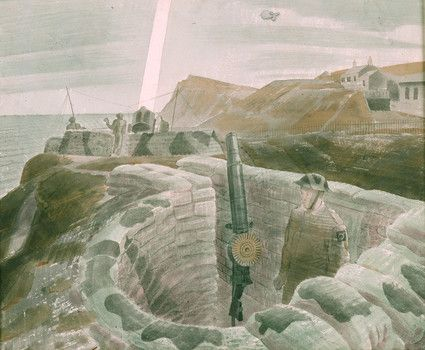 Channel Searchlights by Eric Ravilious, c1941