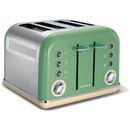 Morphy Richards 242006 New Accents 4 Slice This sleek modern toaster from housewares institution Morphy Richards Richards brings simplicity, style and performance to your kitchen. Featuring variable width slots and variable browning control, a http://www.MightGet.com/january-2017-11/morphy-richards-242006-new-accents-4-slice.asp