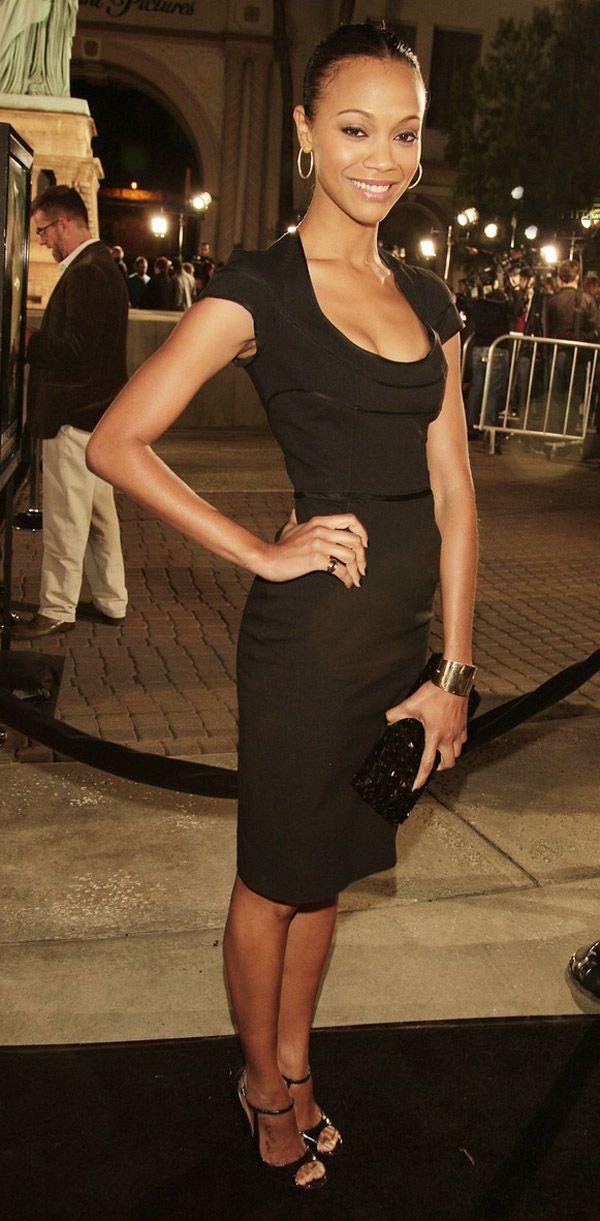 Zoe Saldana - January 2008