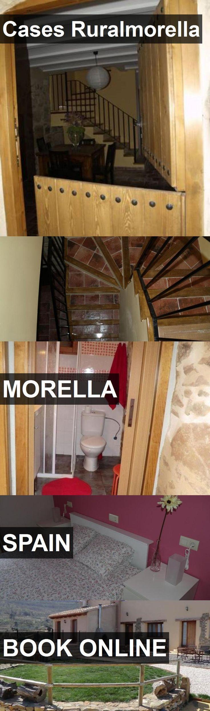 Hotel Cases Ruralmorella in Morella, Spain. For more information, photos, reviews and best prices please follow the link. #Spain #Morella #CasesRuralmorella #hotel #travel #vacation