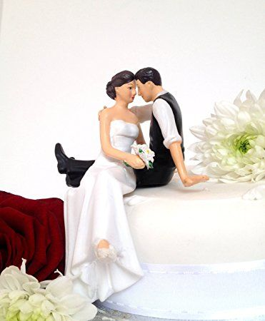 Hochzeitstortenaufsatz / Hochzeitstortenfiguren, sitzend / stehend CAKE TOPPER 10