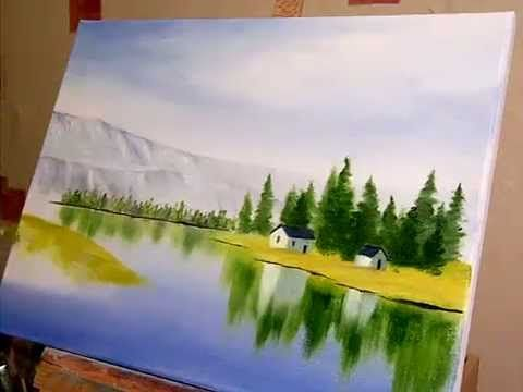 Ready to Paint , Country Landscapes , by Terry Harrison - YouTube