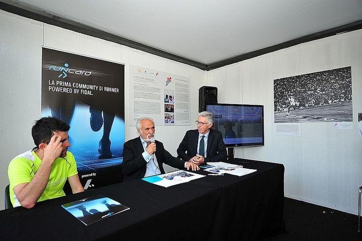 Il Presidente della FIDAL Alfio Giomi illustra il nuovo progetto federale dedicato al mondo della corsa in ambiente naturale, denominato Fidal Mountain and Trail Running Grand Prix.
