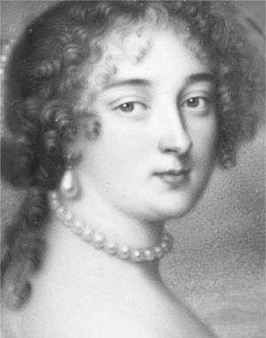 Marie-Madeleine Pioche de La Vergne, comtesse de La Fayette, better known as Madame de La Fayette. French writer, one of the earliest novelists. 1633-1693.