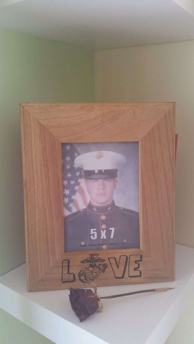 Marine Corps-USMC Love 5x7 Wall Photo Frame-Marine Girlfriend, Wife, Mother, Husband by Five1Designs on Etsy https://www.etsy.com/listing/200317995/marine-corps-usmc-love-5x7-wall-photo