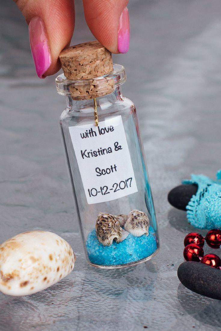 50 Best Wedding Favors Message In A Bottle Images On Pinterest