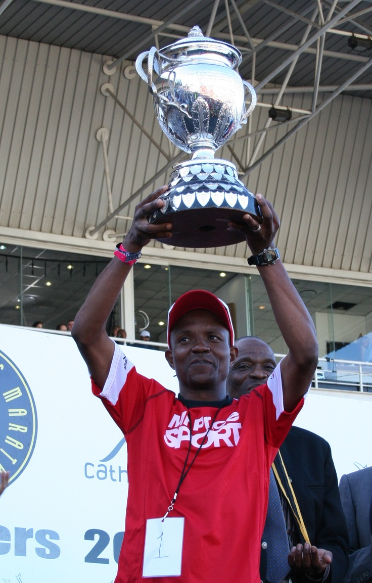 2012 Comrades Marathon Winner, Ludwick Mamabolo