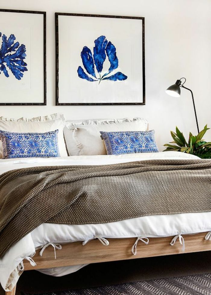 Die besten 25+ Tagesdecke blau Ideen auf Pinterest Bettüberwurf - tagesdecke fur bett 25 wunderschone beispiele