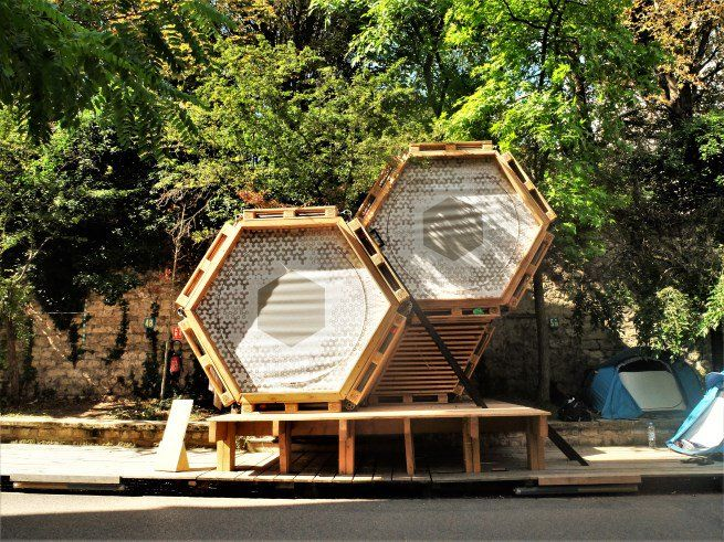 Les Grands Voisins: A Community Project (and Camping!) in the Heart of Paris