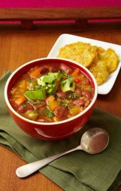 image for ¡Hasta en la sopa! Asopao de habichuelas