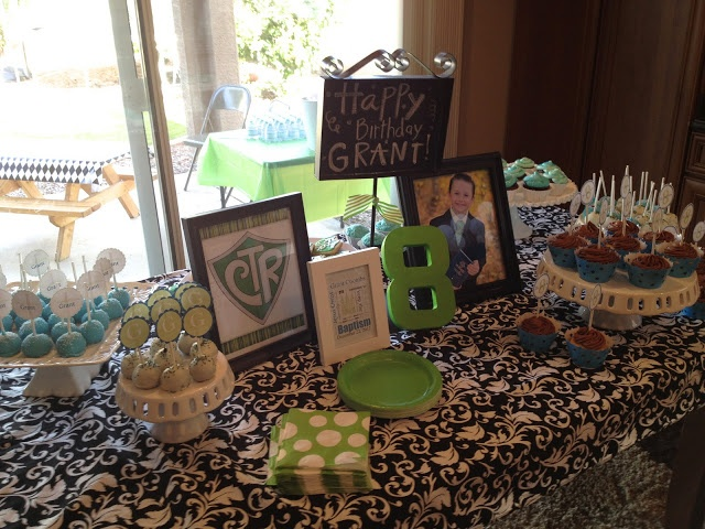 Cute baptism party ideas