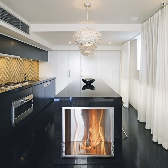 18 best Kitchen Fireplace Ideas images on Pinterest Fireplace