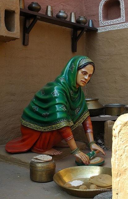 How to make Punjabi Roti?