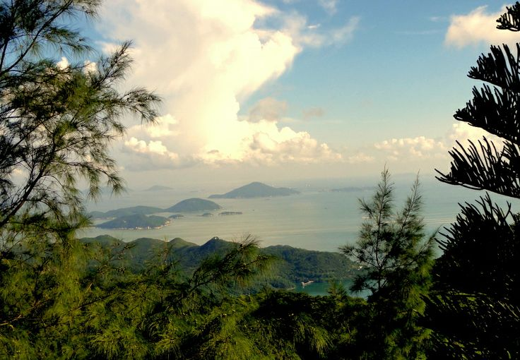 Outlying islands in the new territories