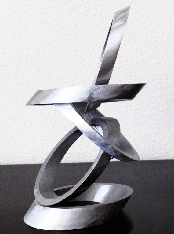 Abstract Metal Sculpture by metalutiondesigns on Etsy, $600.00