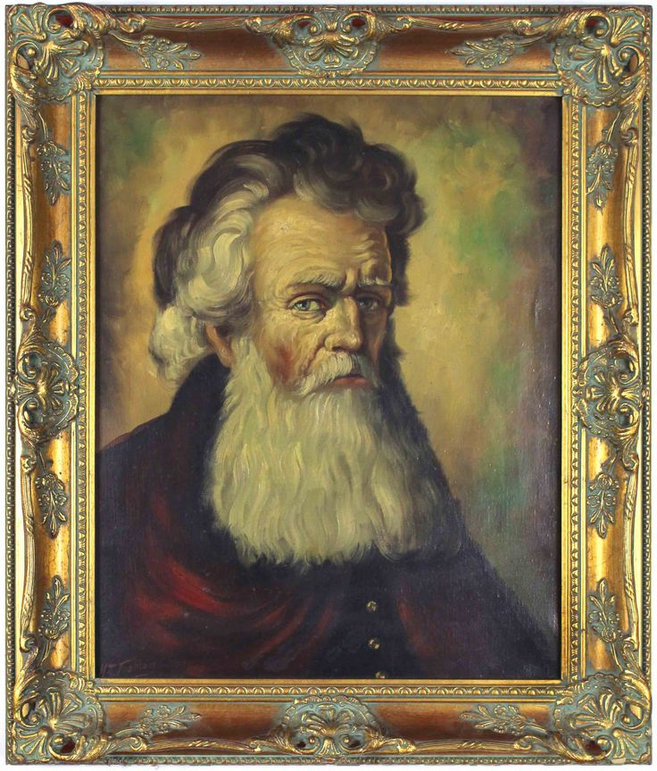 A patronly bearded man. This particular piece has been put in an incredible frame. #beard #serious #portrait