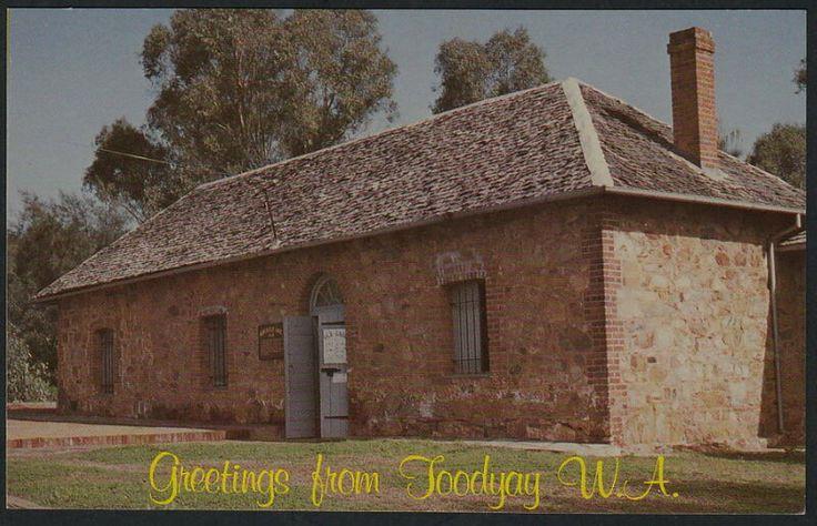 Toodyay Gaol Postcard