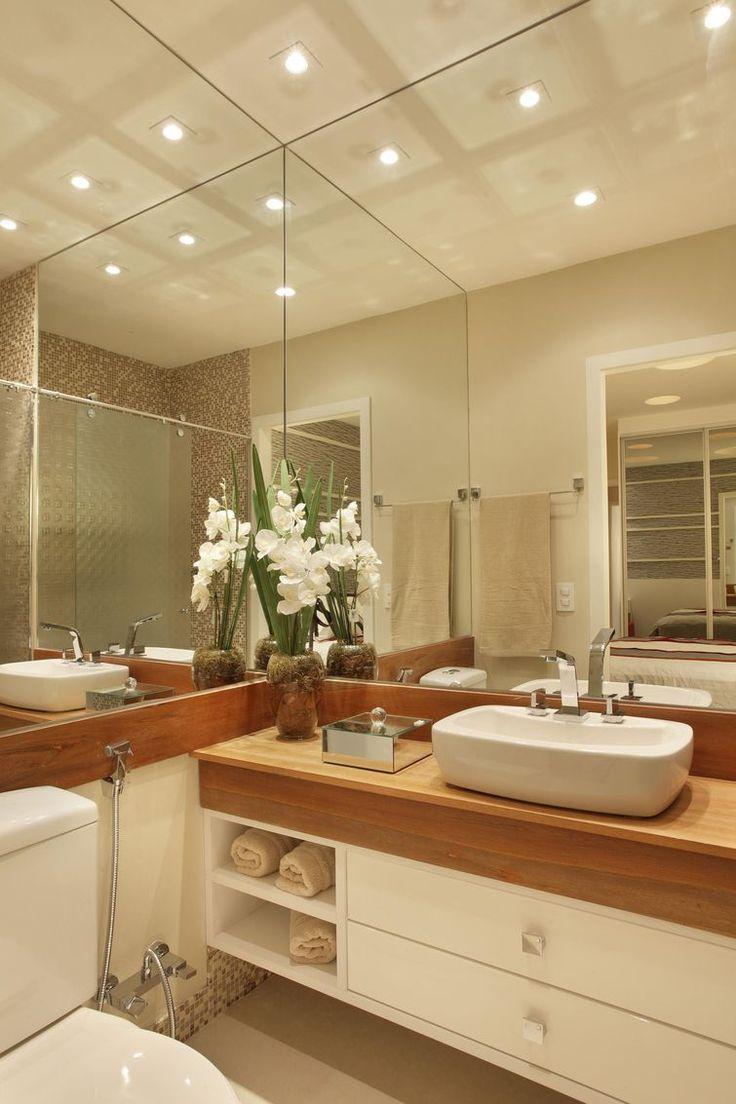 Mas de 1000 imagens sobre CASAS no Pinterest  Google, Closet e Design -> Banheiro Pequeno Casal