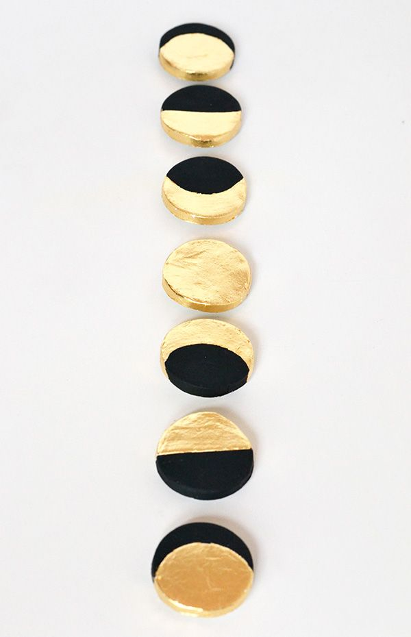 Make your decor   Crescent moon magnets   Make and Tell