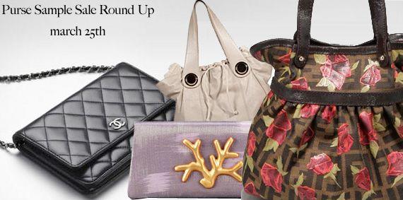 Designer Handbag Sample Sales - Kors, Chanel, Gustto, Fendi and more!