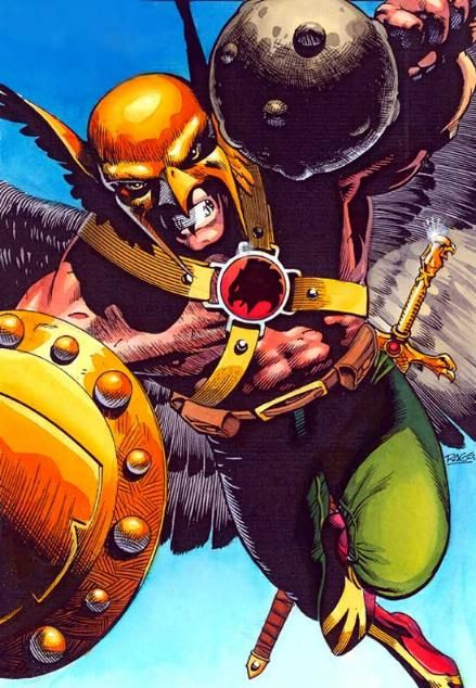 Hawkman by Rags Morales