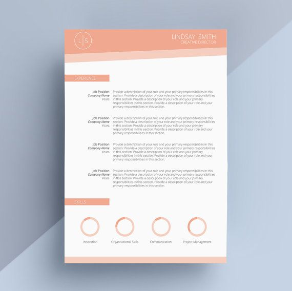 27 Best Resume / Cv Design Images On Pinterest | Cover Letter