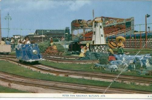 Peter Pan Railway 1950s