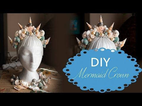 Mermaid Crowns: DIY Make Your Gorgeous Crown - the blushing mermaid