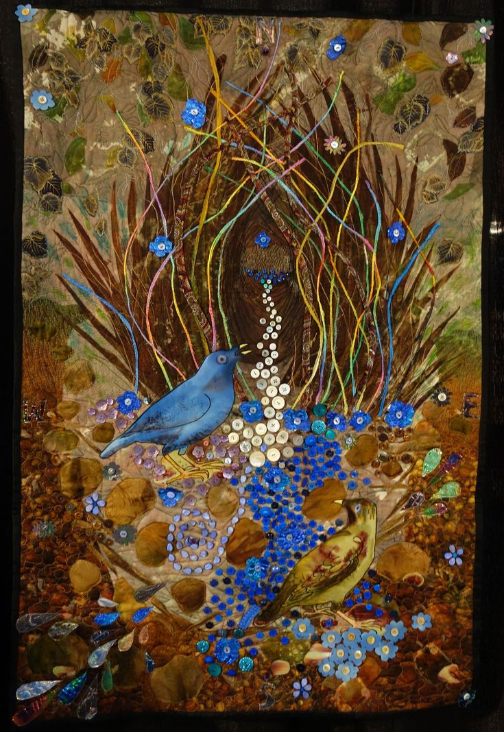 Avian Architecture - Myself as a Bowerbird by Judith Roderick