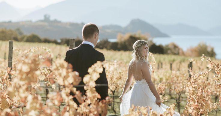 Real Wedding - Autumn in Wanaka