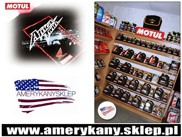 Delivery of goods from the company MOTUL http://amerykanysklep.pl/index.php?controller=search&orderby=position&orderway=desc&search_query=motul&submit_search=