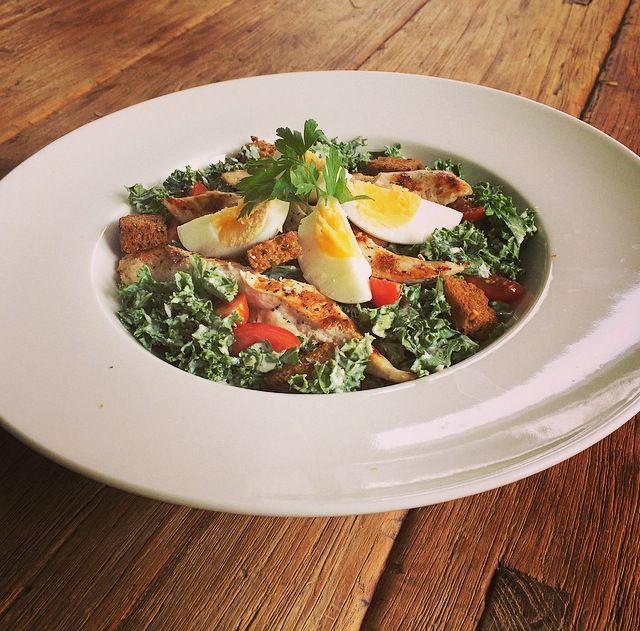 Boerenkool (kale) ceasar Salade