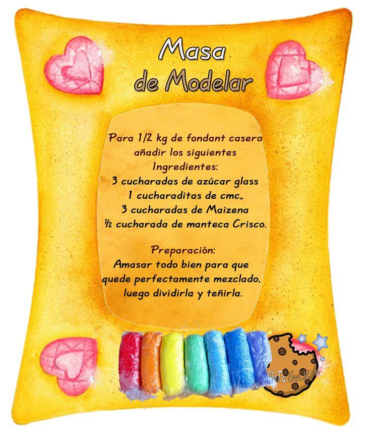 Tartas, Galletas Decoradas y Cupcakes: Pasta Modelar