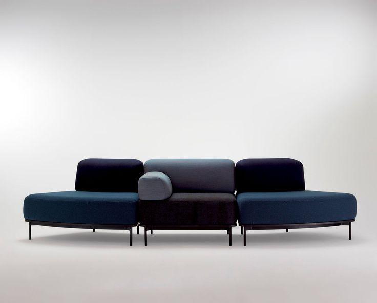 Softscape Modular Lounge by Helen Kontouris. Available from Stylecraft.com.au