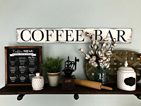 Coffee Sign Coffee Bar Coffee Bar Sign Coffee Decor Etsy Coffee Bar Signs Coffee Bar Vintage Coffee Signs