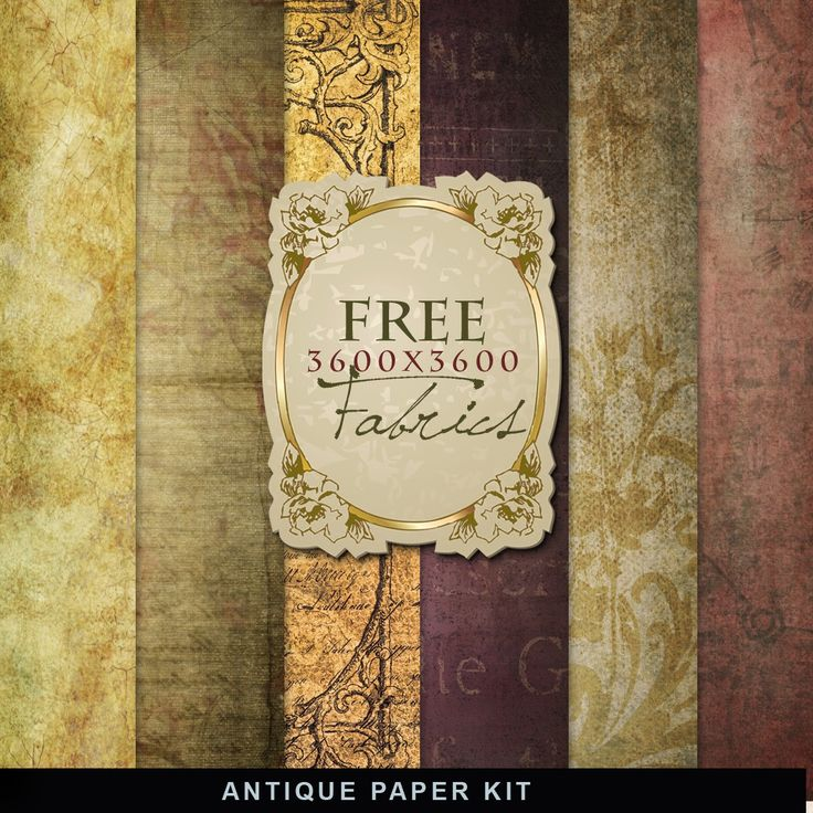 Freebies Antique Autumn Paper Kit:Far Far Hill - Free database of digital illustrations and papers