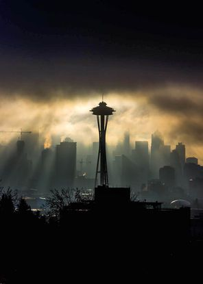 Photographer: Stanton Prescott, Seattle Photo taken: Jan. 7, Kerry Park, Seattle