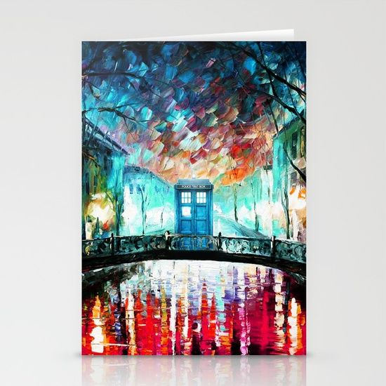 Tardis With Beautiful Starry Night - $12