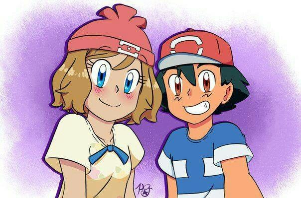 Amourshipping Pokemon Ash And Serena Pokemon Characters Pokemon