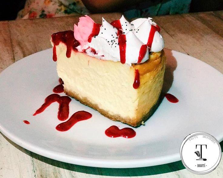 Cheesecake de frutos rojos  Mila