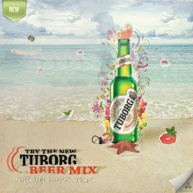 This is a fan-made advert poster byt me for the Beer Mix from Tuborg. :)