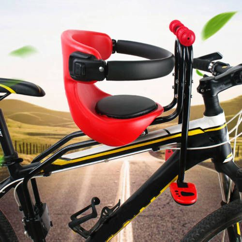 Safety Stable Baby Child Kids Bicycle Bike Front Seat Chair Carrier Sport